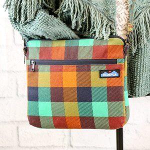 Kavu Plaid Crossbody Bag